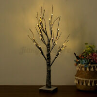 Christmas LED Tree Snow Twig Light Branch Lamp Xmas Party Wedding Decorations