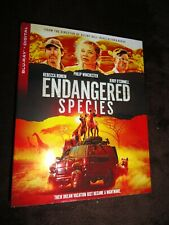 Endangered Species (2021) Blu Ray Rebecca Romijn/Jerry O' Connell w/Slipcover
