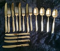 "Set of 16 Cutlery Pieces,""South Seas"" Community Stainless ,Sheffield,England"