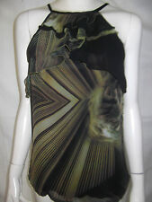 SHEIKE Womens Cutaway Shoulder Spagetti Strap Top size 6- BNWT