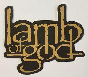 x2 Lamb Of God Music Band Logo Sticker Decal Vinyl Rock Metal Punk Car