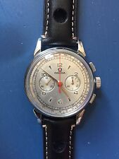 Vintage Omega Chronograph Cal 320 Mens Watch SS Case