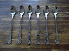 BRAND NEW King's Sundae / Latte / Soda spoons x 6