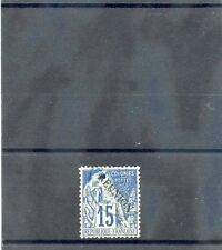 REUNION Sc 22(YT 22)VF USED 1891 15c BLUE $16