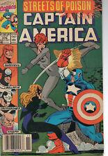 Captain America #376 (Sep 1990, Marvel) VG/Fine