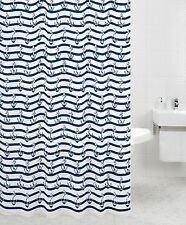 Shower Curtains with Nautical Pattern