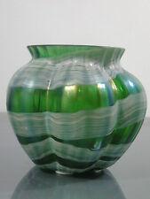 Vase Böhmen um 1900 irisierend