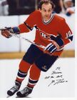 GUY LAFLEUR HAND SIGNED 8x11 COLOR PHOTO+COA MONTREAL CANADIENS TO BRIAN