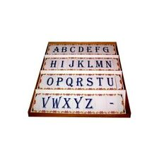 Tiles for Wall with Letters Numbers Spaces and End Corners Vintage Ceramic Tiles