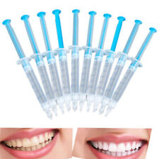 5x Teeth Whitening Oral Gel Syringes 44%Tooth Bleaching Peroxide Dental Whitener