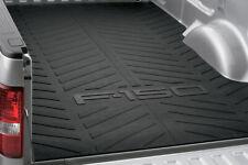 "2004-2014 Ford F150 OEM Truck Bed Mat 6.6"" Black w Logo 4L3Z-99112A15-BA"