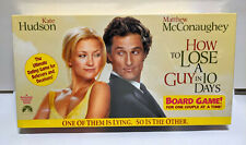 How to Lose a Guy in 10 Days Board Game New Sealed Paramount