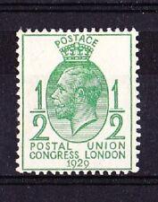 GREAT BRITAIN GB 1929 UPU 1/2 p. vert  NEUF MNH