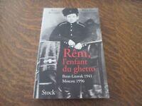 rem, l'enfant du ghetto - ILYA ALTMAN & CLAUDIO INGERFLOM