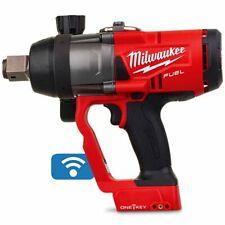 "Milwaukee M18 FUEL BRUSHLESS IMPACT WRENCH M18ONEFHIWF10 1"" High Torque, Skin"