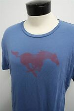 RARE! VTG SMU University Mustangs College Football t-shirt sz XL mens S/S#9012
