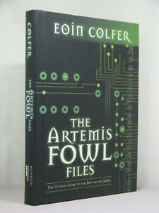 1st,signed by author,The Artemis Fowl Files by Eoin Colfer (2004)guide to series