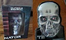 Terminator Loot Crate Endo Skull Replica Figure and Metal Sign NEW Exclusive