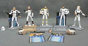 Hasbro Star Wars Galactic Battle Game Clone Wars FigureLot Slick Boost Chopper