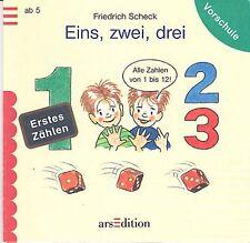 Scheck, F – Eins, zwei, drei - arsEdition ZAHLEN zählen