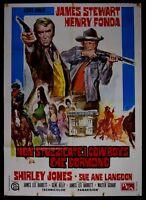 M141 Manifesto 2F Not Stuzzicate The Cowboys Che Nap Time Henry Fonda J.Stewart