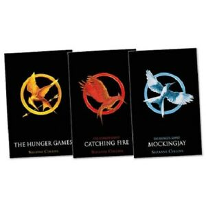 The Hunger Games Trilogy Collection Suzanne Collins 3 Book Set Pack 1 2 3 NEW