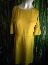 ASOS Yellow  Dress Size 16