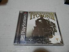 Railroad Tycoon II 2 COMPLETE GAME for your Playstation PS1 system