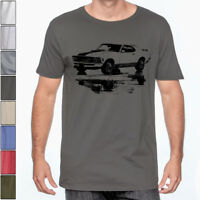 1970 MUSTANG Mach 1 Soft T-Shirt Classic Muscle Car Multiple Colors & Sizes