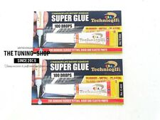 2x Very Strong Super Glue Adhesive For Glass Rubber Metal Wood Porcelain Ceramic