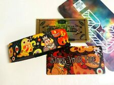 ZOX **STOKE YOUR FIRE** GOLD Strap med Wristband w/Card New Mystery Pkg & GOLD
