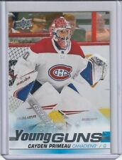 2019-20 UD CAYDEN PRIMEAU RC YOUNG GUNS SP (#454, MONTREAL CANADIENS)!!!