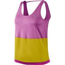 Nike Womens Novelty Tank Gym Fitnes Workout Ladies Size 8 XS Pink Citron A323-4