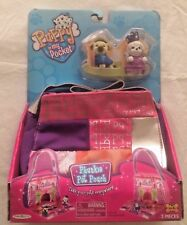 Puppy In My Pocket with Phunkie Pet Pouch Mall Play Set 2010 Vintage NIB Rare(?)