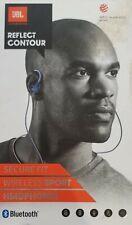 JBL Reflect Contour Bluetooth Wireless Ear-phones - Blue