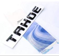 3D Black TAHOE Letters Rear Trunk Tailgate Nameplate Emblem fit Chevrolet LTZ LT