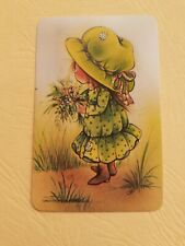 playing cards swap,  One card, Blank Back, G &T.