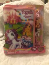 2009 Collectible My Little Pony G3 Ponyville Adventure Game board