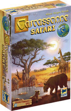 Carcassonne Safari 2018 Tile Laying Strategy Board Game GERMAN BRAND NEW, SEALED