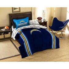 5pc NFL San Diego Chargers Bedding Set Comforter Pillowcase Sheet Set Twin Size