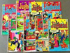 8 Archie Comics Bronze Age JUGHEAD  Betty Veronica  (Lot A24)