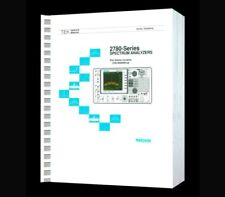 Hi Resolution Paper Reprinted Service Manual Tektronix 2782 Spectrum Analyzers