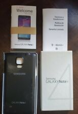Samsung Galaxy Note 4 Empty Box, no cellphone. With Rear Cover