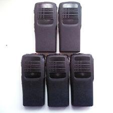 Lot 5 new Repair front Housing cover For Motorola Ht750 walkie talkie in Black