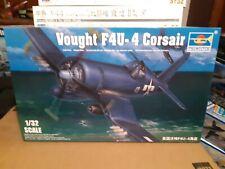 Trumpeter 1/32  Vought F4U-4 Corsair 02222, open box sealed parts