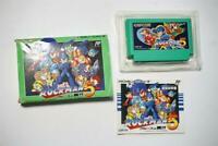 Famicom Rockman 5 Mega Man boxed Japan FC game US Seller