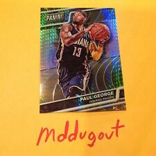 PAUL GEORGE #18 Pacers MVP 2016 Panini National VIP Gold Prizm Ref only 99 made
