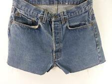 Vintage Denim Shorts cotton Blue size w31 Grade B M339