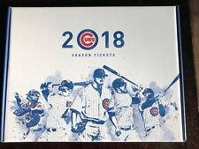 2018 MLB CHICAGO CUBS  SEASON TICKET HOLDER BOX