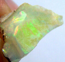 ETHIOPIAN OPAL FACET CABBING ROUGH 100% NATURAL AMAZING PLAY OF COLOR GEMSTONE